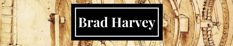 Brad Harvey website and portfolio