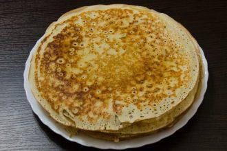 Corn masa pancakes
