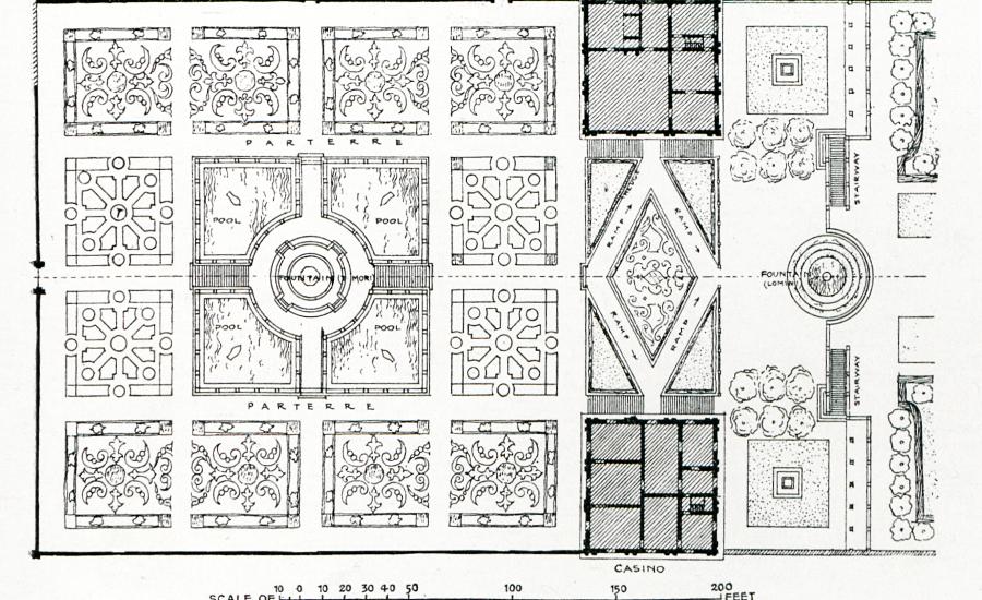 Gardens Of Versailles Plan 2
